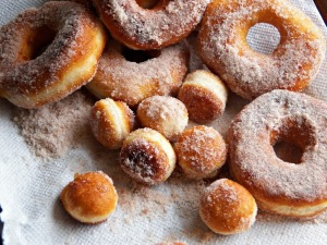 The world is better place because of doughnuts AND apple cider doughnuts rock
