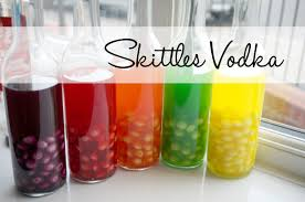 I thought I had a picture (or two) of some of the Skittle vodka I've made in the past but nope...